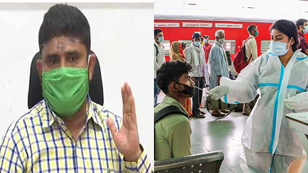 Those who have no symptoms should be safe at home - Chennai Commissioner Prakash