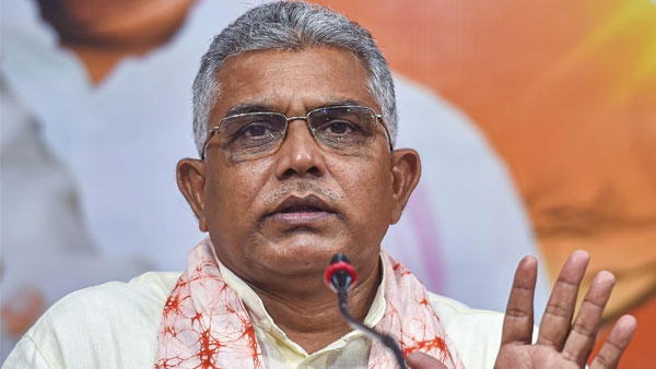 Dilip Ghosh has said that Mamata Banerjee should be prosecuted for inciting the people against the security forces involved in the election campaign