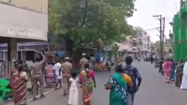 DMK-BJP clash at Pallapatti polling booth in Aravakurichi constituency