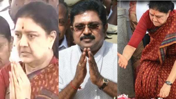 டக்குனு போனை போட்ட சசிகலா.. தினகரனின் பிளானை நிறுத்தி