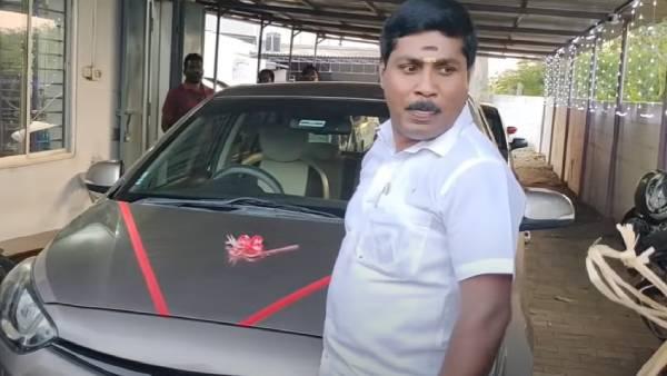 நான் சாதிச்சுட்டேன்.. 'எங்க பரம்பரையில கார் வாங்குன முதல் ஆள்'... ஜி.பி.முத்து உருக்கமான வீடியோ