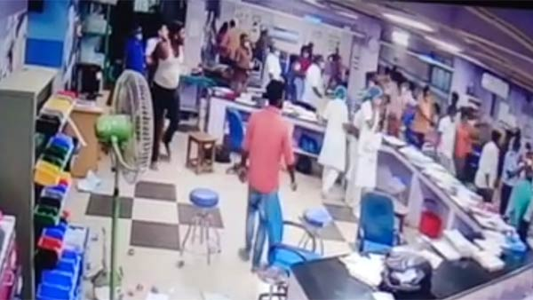 Attack on a trainee doctor at Tanjore Medical College: CCTV footage released