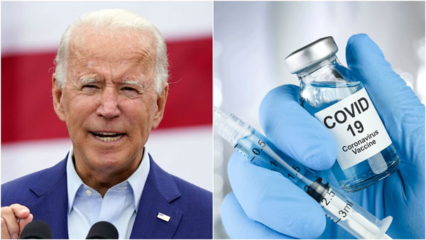 Joe Biden announces every adult eligible for COVID-19 vaccination from April 19
