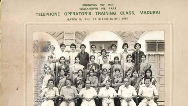 எப்படி இருந்த நடிகர் விவேக்... 1982-ல் மதுரையில் கல்லூரி காலத்தில்.... வைரலாகும் போட்டோ