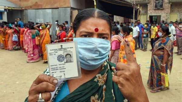 மேற்கு வங்க சட்டசபை தேர்தல்: 6 வது கட்ட வாக்குப்பதிவு நிறைவு - 79.04% வாக்குகள் பதிவு