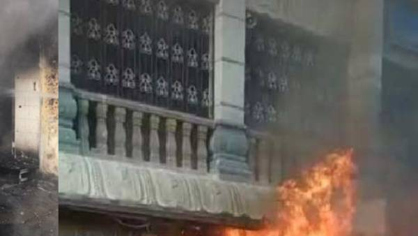 Tirupathi fire accident: Massive fire breaks out at shops in Tirumala