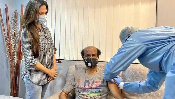 நடிகர் ரஜினிகாந்த் கொரோனா 2-வது தடுப்பூசி போட்டுக் கொண்டார்