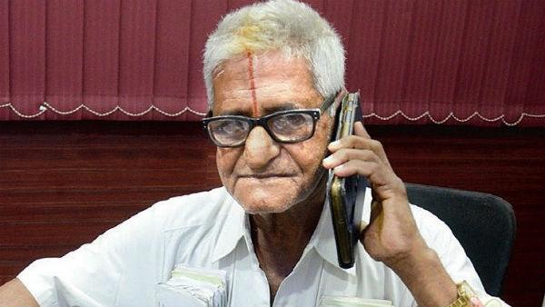 சமூக ஆர்வலர் டிராபிக் ராமசாமி உடல் நிலை மிகவும் கவலைக்கிடம்