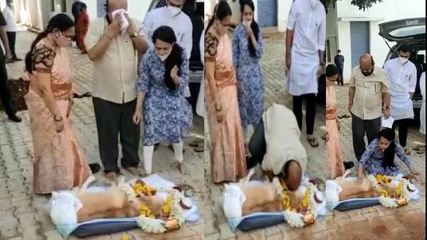 அய்யோ போச்சே.. குடும்பத்தோடு கதறி அழுத கர்நாடக முதல்வர் பசவராஜ் பொம்மை..வைரலாகும் வீடியோ!