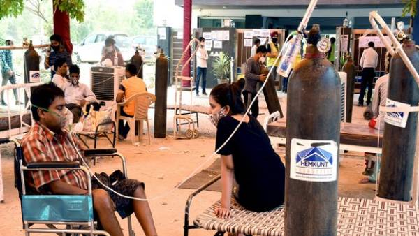 கொரோனா.. ஆக்சிஜன் பற்றாக்குறையால் இந்தியாவில் ஒருவர் கூட சாகவில்லை..ராஜ்ய சபாவில் மத்திய அரசு பதில்
