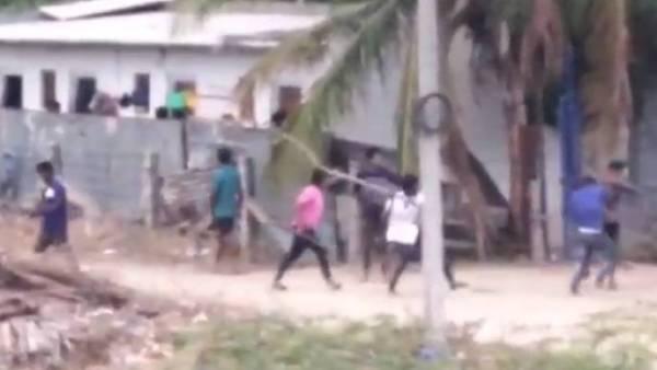 திருப்பூர் அருகே ஷாக்.. உள்ளூர் வாலிபர்கள் vs வட மாநில இளைஞர்கள் பெரும் அடிதடி.. குடியால் விபரீதம்