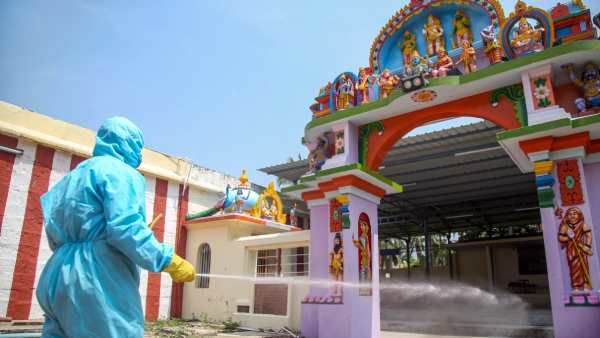 தமிழ்நாட்டில் மீண்டும் அதிகரிக்கும் கொரோனா.. பிரசித்தி பெற்ற இந்த கோவில்களில் பக்தர்களுக்கு தடை