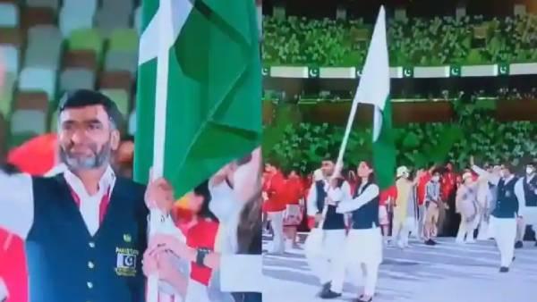ஒலிம்பிக் அணிவகுப்பில்.. கொரோனா தடுப்பு விதிகளை மீறிய பாகிஸ்தான் வீரர்கள்.. வறுக்கும் நெட்டிசன்கள்!
