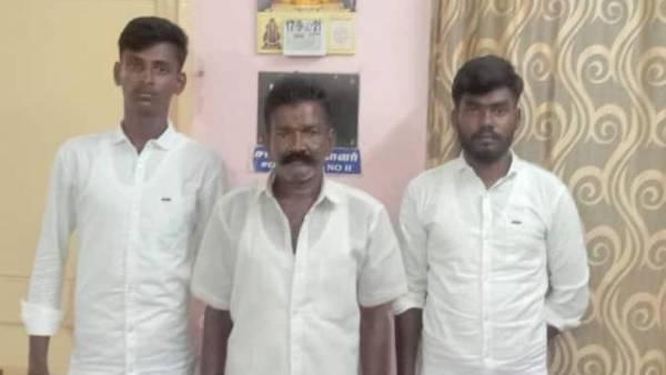 சிவகங்கை பாஜக நிர்வாகி கொலையில் 3 பேர் கைது.. பின்னணியில் 2012 ஆம் ஆண்டு நடந்த சம்பவம்!