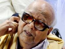 Karunanidhi Accuses Jayalalitha Violating Model Code Conduct