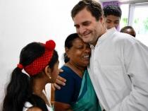 Rahul Gandhi Meets Rajamma A Retired Nurse From Wayanad