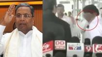 Former Cm Siddaramaiah Explains Why He Slaps His Aide In Mysuru Airport