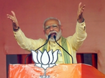 Opposition Here Is Shocked And Disturbed By Our Work Says Modi In Campaign