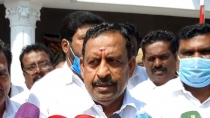 Tn Minister Os Manian Not Comments On Gurumurthy S Sewage Remark