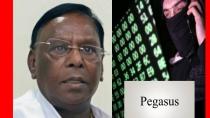 Puducherry Ex Cm Narayanasamys Video And Says About Pegasus Tapping Phone Conversation Matter