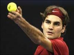 Sports Wailing Baby Triggers Federers Speedy Win