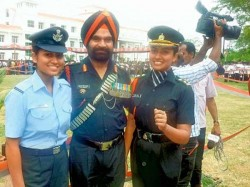 Sister Duo Represent Army Iaf On Republic Day