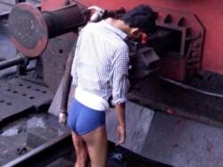 Dead Body Travels On Train S Engine 6km Nellai