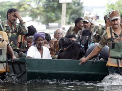 National Disaster Rescue Team Arriving Chennai