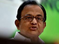 Chidambaram Slams It Raides On Firms Linked His Son