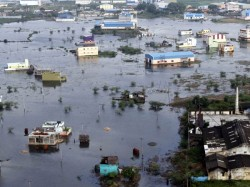 Land Water Level Increases Chennai