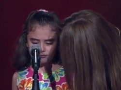 Touching Moment Young Syrian Girl Breaks Down Tears On Arabic Talent Show