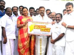 Vijayakanth Releases Conference Logo