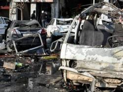 Dead Islamic State Bombings Near Syria Shiite Shrine