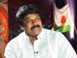 India Chiranjeevi Seeks Rising Sun Or Two Leaves S