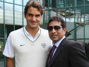 Federer Knows Lot About Cricket Says Sachin Tendulkar Aid