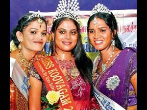 Tamilnadu Thiruvannamalai Harini Is Miss Koovagam 2012 Aid