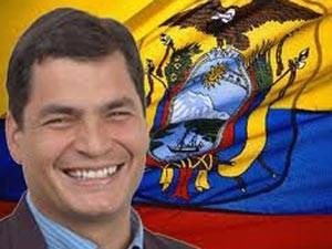 World Ecuador S Rafael Correa Re Elected