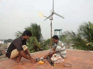 Business Youths Set Up Windmill With Just Rs 6