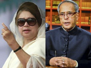 India Khaleda Zia Cancels Proposed Meeting With Pranab