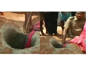Tamilnadu 7 Year Old Girl Fell Into Borewell Near Karur