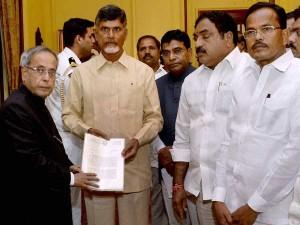 Chandrababu Naidu Meets President Bjp Chief On Telangana Issue