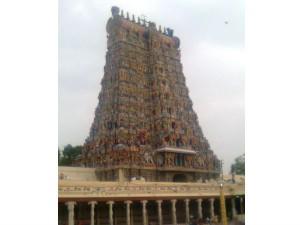 Lightning Strikes Rajagopuram Meenakshi Temple