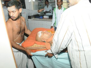 Jayendrar Hospitalised
