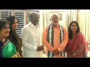 Modiji Is Like Part Our Family Latha Rajinikanth