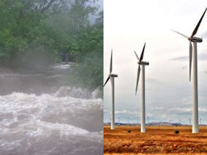 Rain Brings Cheer Farmers Power Production Increasee Windmills