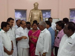 Politicians Are Rushing Voc Memorial As Nellai Mayor Election Nears