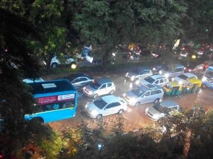 Bangalore Rainfall Floods Roads Houses Uproots Trees