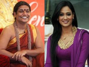 Nithyananda Invites Swetha Diwari