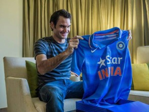 Photo Controversy During Wc Federer Apologises India Pakistan Fans