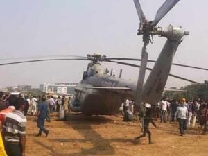 Iaf Chopper Makes Emergency Landing Mumbai